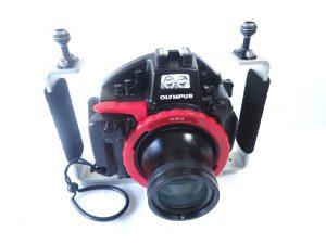 PT-EP14 + 60mmマクロポート + MPBK-04 グリップ セット例