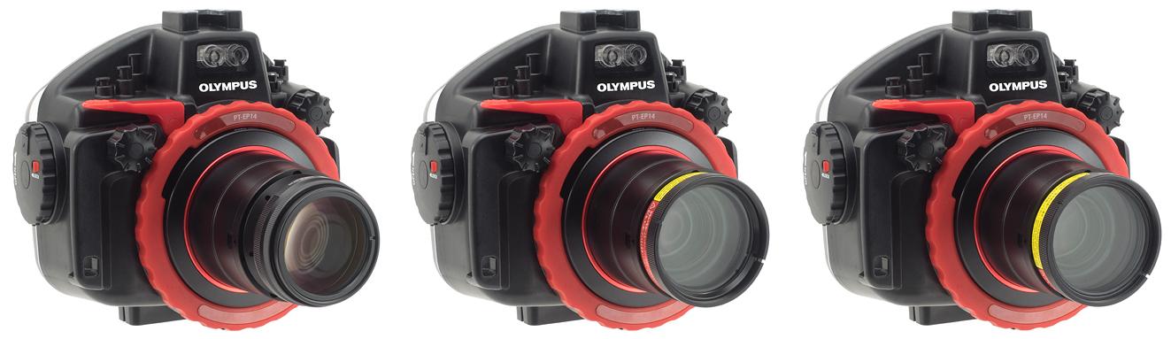 INON社製品のオリンパスE-M1MarkⅡ/PT-EP14への対応