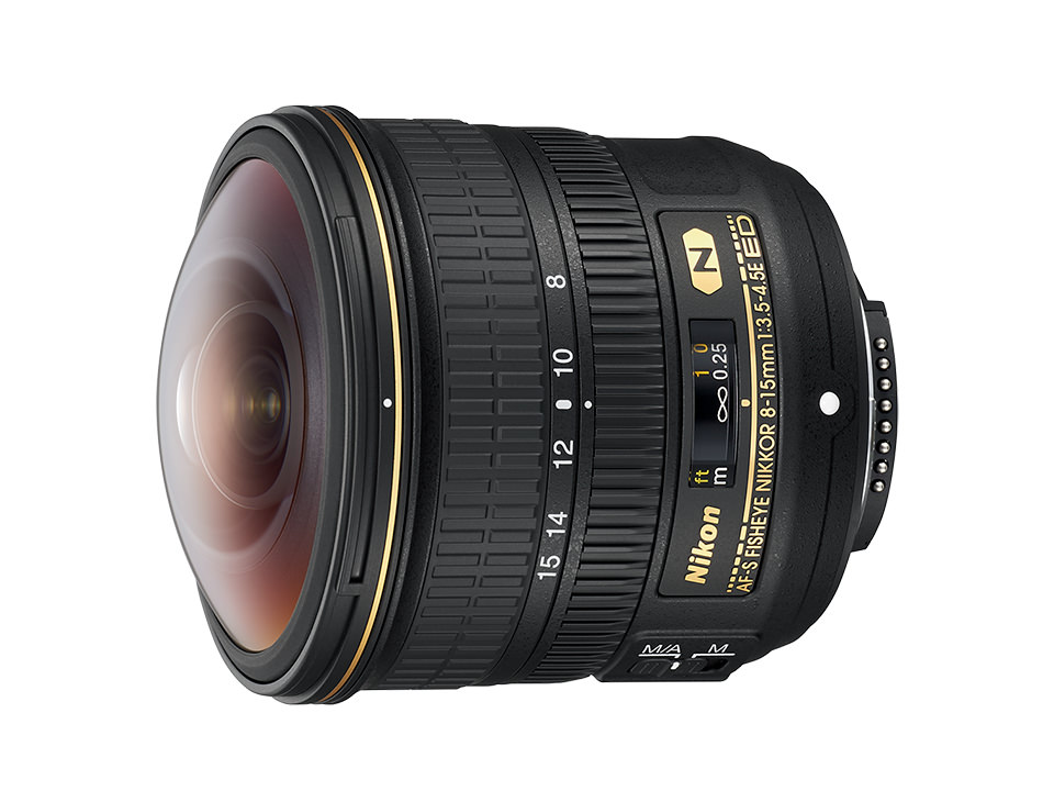 Nikon フィッシュアイズームレンズ 新発売 AF-S Fisheye NIKKOR 8-15mm f/3.5-4.5E ED