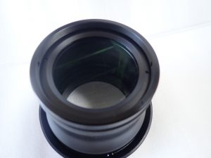 中古水中カメラ用品 M.ZUIKO DIGITAL ED 60mm マクロレンズ用 60mmマクロポート FLP-02/OMD