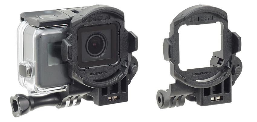 INON SDフロントマスク for HERO5/6 | GoPro®社『HERO6 BLACK』用純正ダイブハウジング「Super Suit」対応