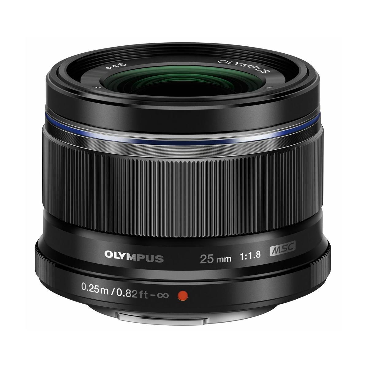 M.ZUIKO DIGITAL 25mm F1.8 | OLYMPUS 高画質標準レンズ