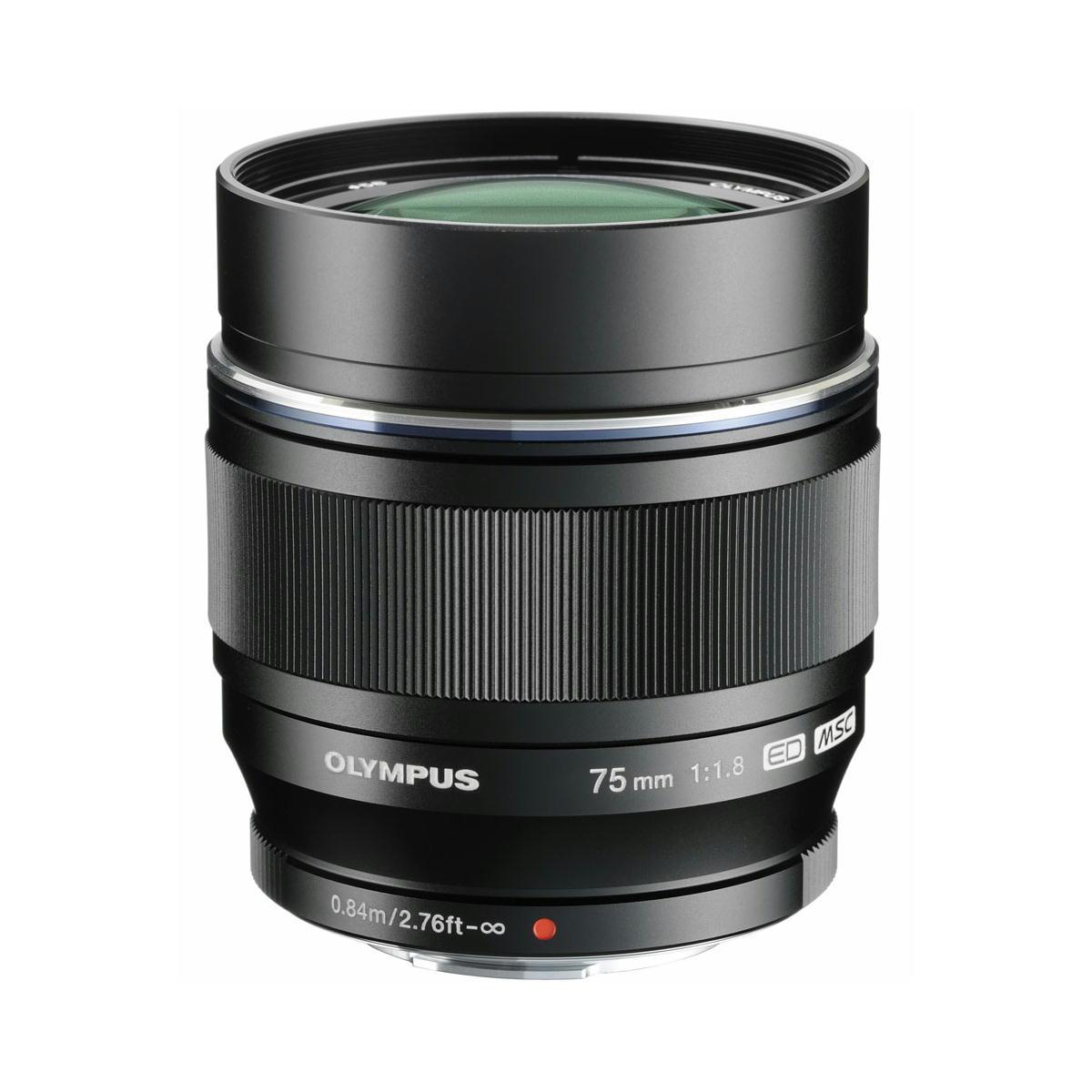 M.ZUIKO DIGITAL ED 75mm F1.8   OLYMPUS 単焦点レンズ