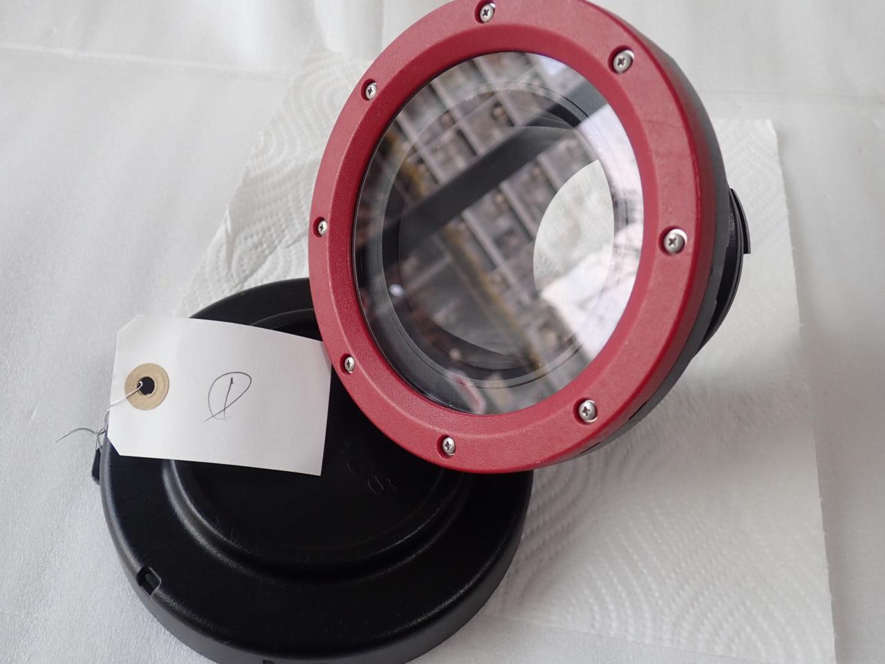 中古水中カメラ機材 オリンパス PPO-EP01 防水プロテクター(PT-EP12対応用)