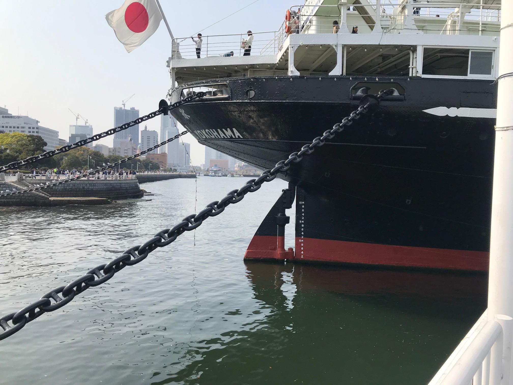横浜 山下公園 日本郵船氷川丸
