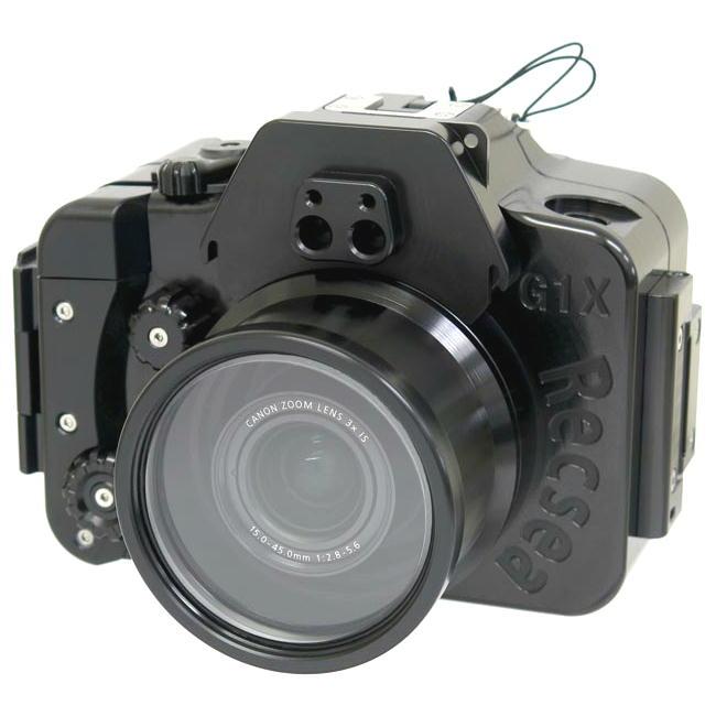 Recsea CanonG1XMk3用アルミ防水ハウジング 新発売