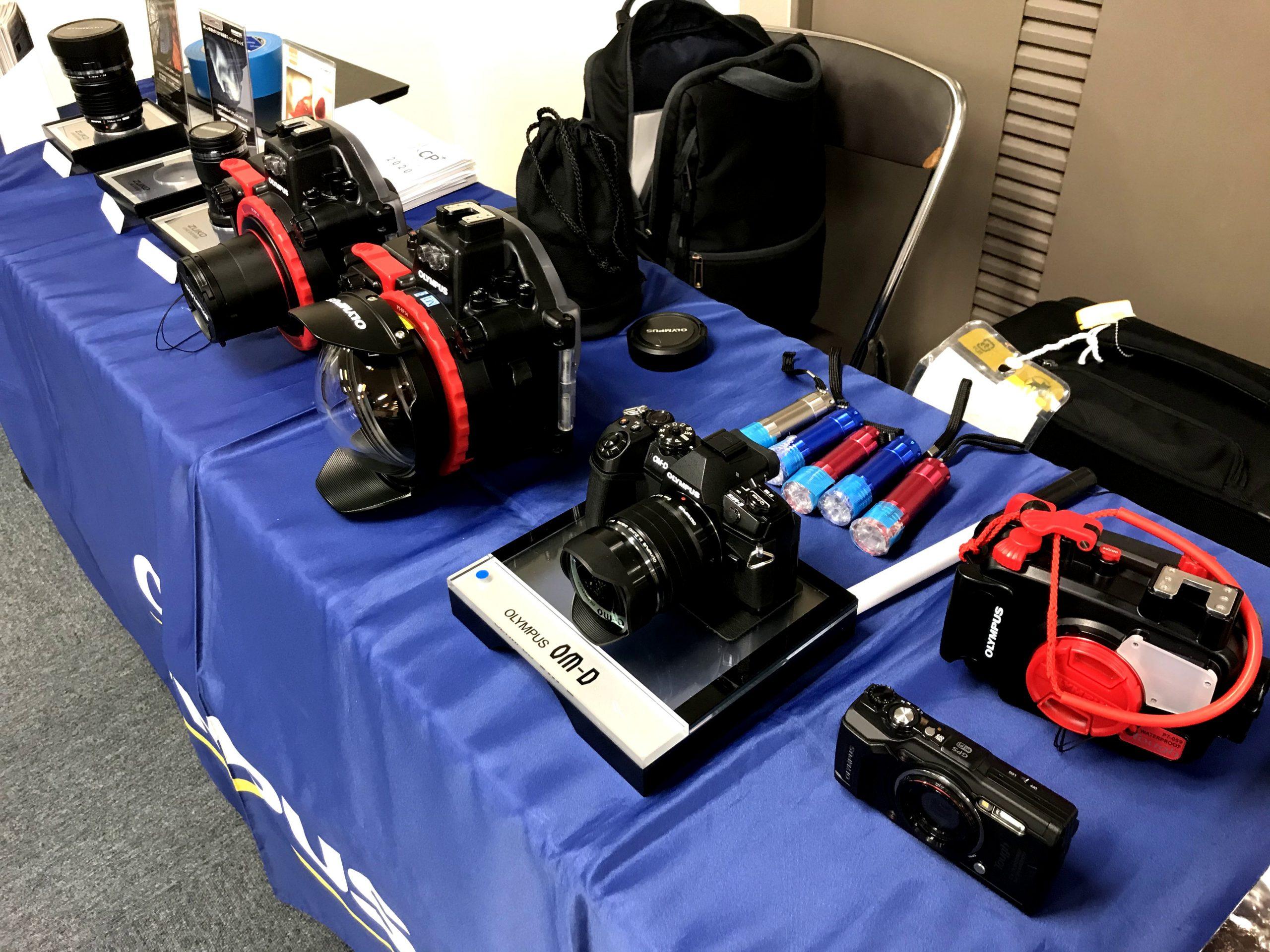 水中撮影機材ビジネスショー2020