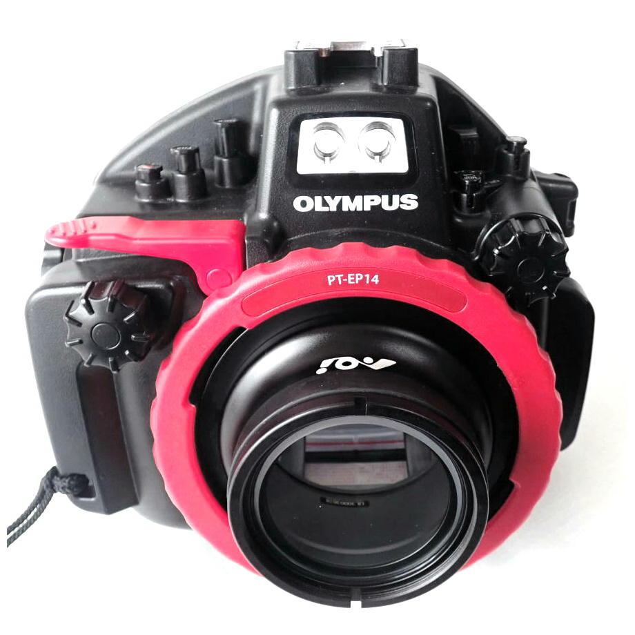 防水プロテクター(OMD、PEN、TG用カメラ用ハウジング)