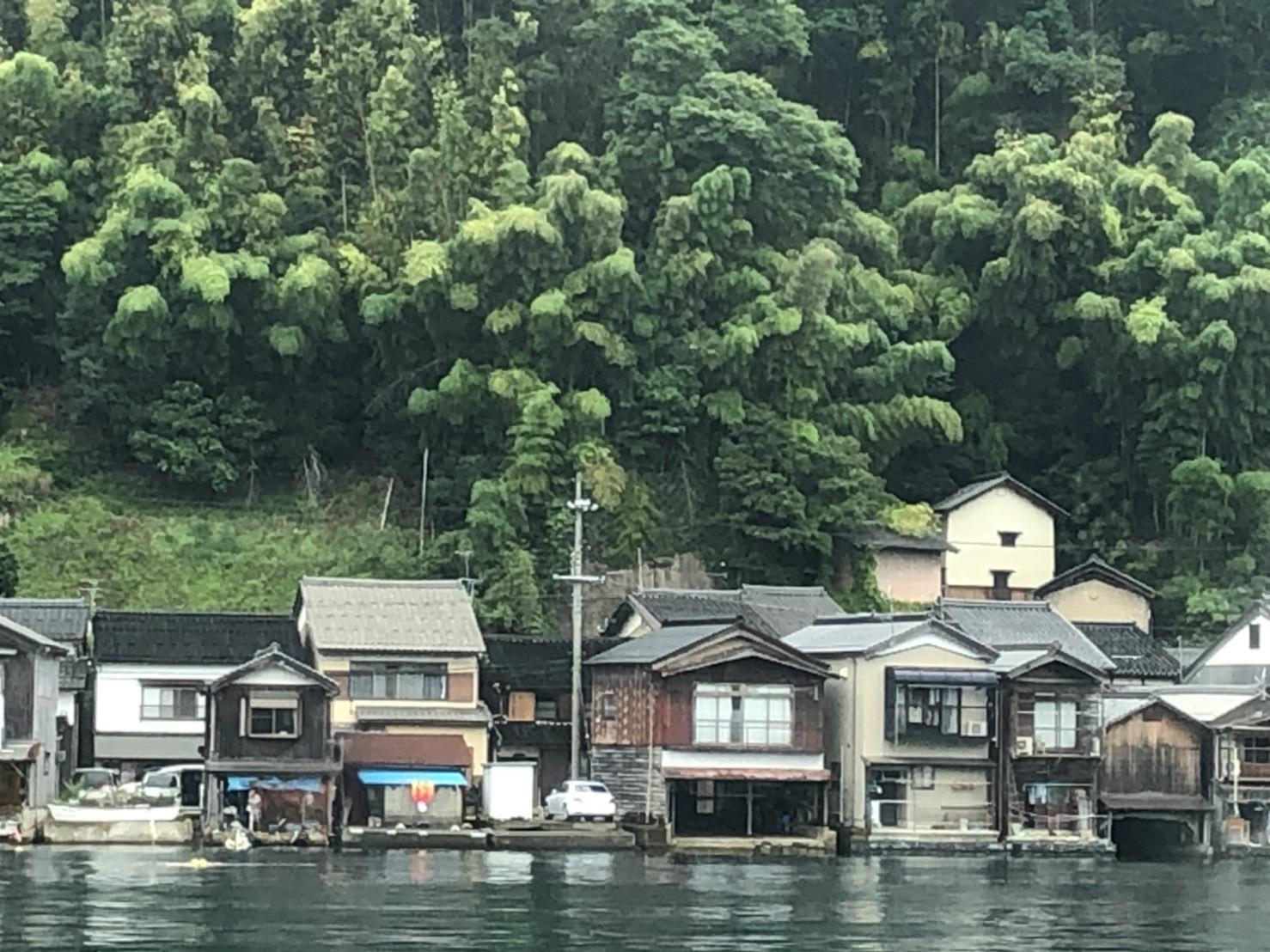 日本海 舟屋