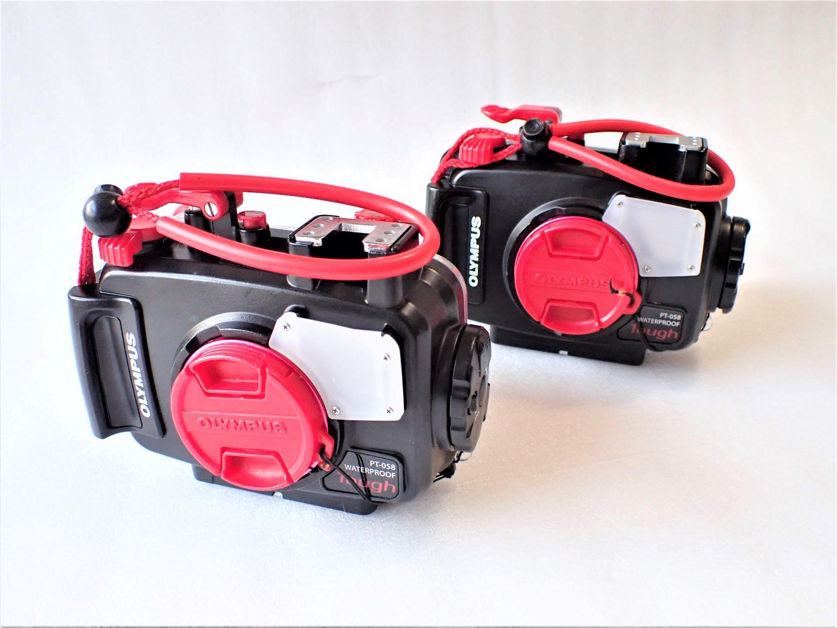 オリンパスPT-058防水プロテクター TG-5カメラ