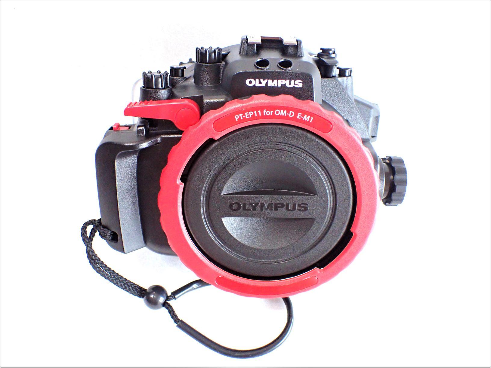 中古水中カメラ機材 オリンパス PT-EP11防水プロテクター(OM-D E-M1対応用)未使用
