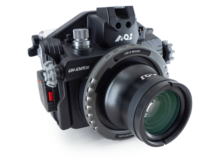 AOI E-M5 markⅢハウジング +60mmマクロポートセット