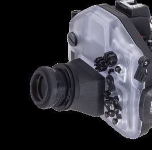 TGシリーズ 防水プロテクターPT-059、UH-EPL10、UH-EM5Ⅲ対応マグニファイヤー(視度補正付き)